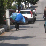 Collecting materials for recycling in Croatia